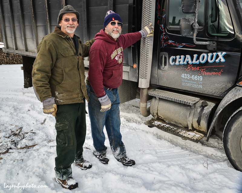 Roger Chaloux, left, and Hector Chaloux.
