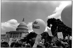 Anti nuclear power demonstration, Washington, DC, May 6, 1979