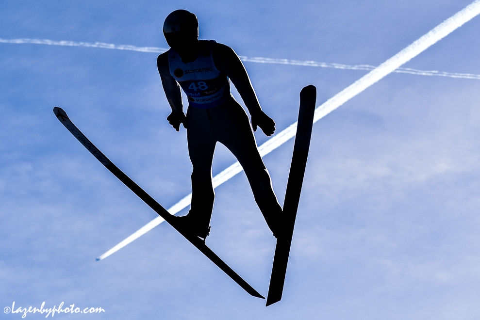 FIS Nordic World Ski Championships, Seefeld, Austria.