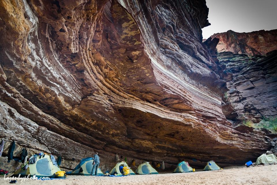 Poncho's Kitchen Camp, Grand Canyon, Colorado River