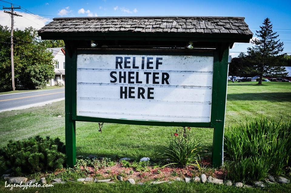 Sign, Route 12, Bethel, VT