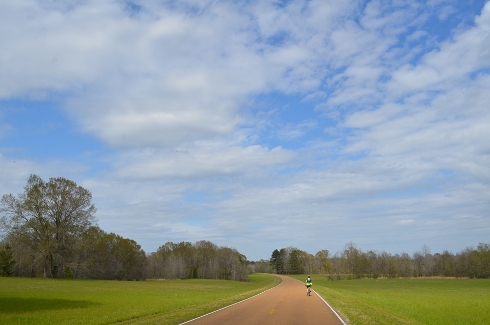 Bicycling the Natchez Trace Parkway.