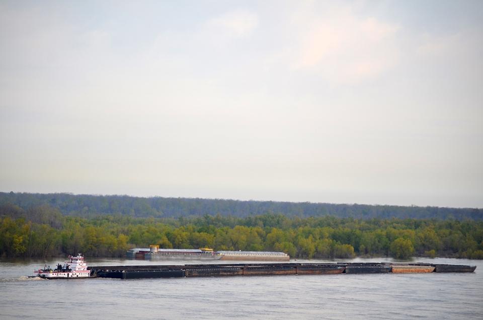 Mississippi River at Natchez, MS.