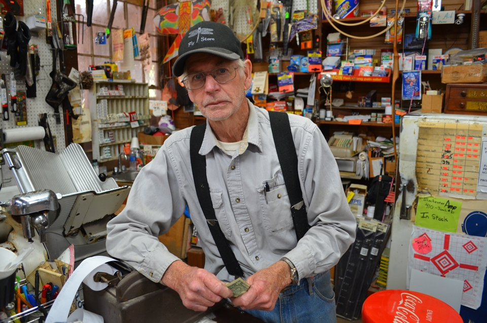B. Wilson Fly, proprietor, Fly's General Store, Fly, TN.