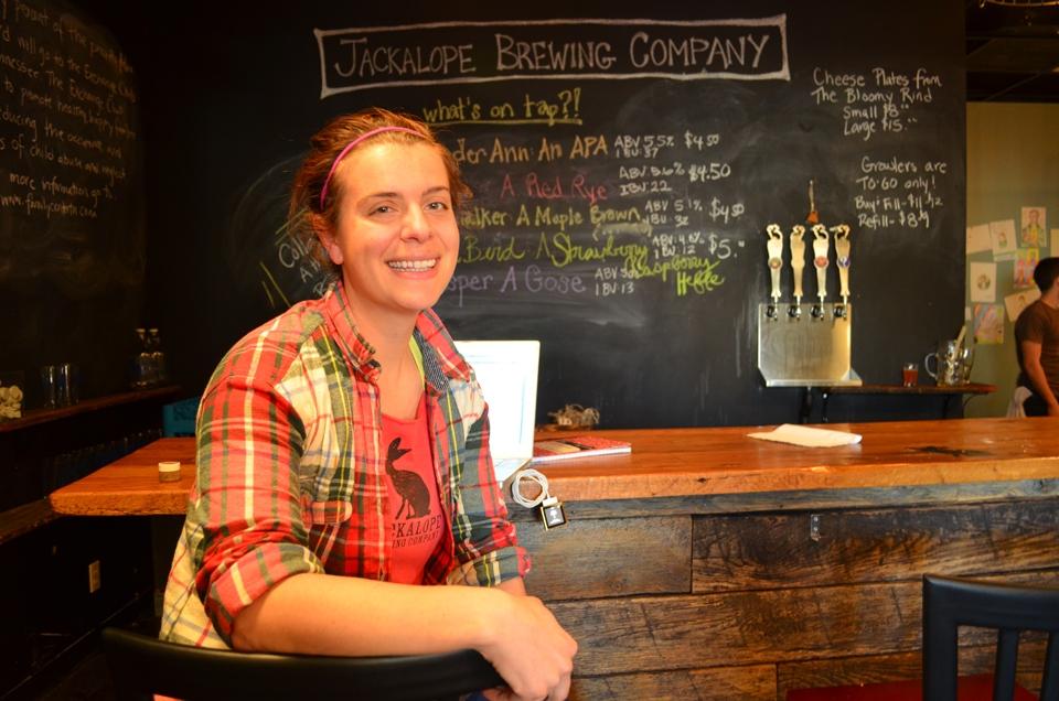 Bailey Spaulding, Jackalope Brewing, Nashville, TN