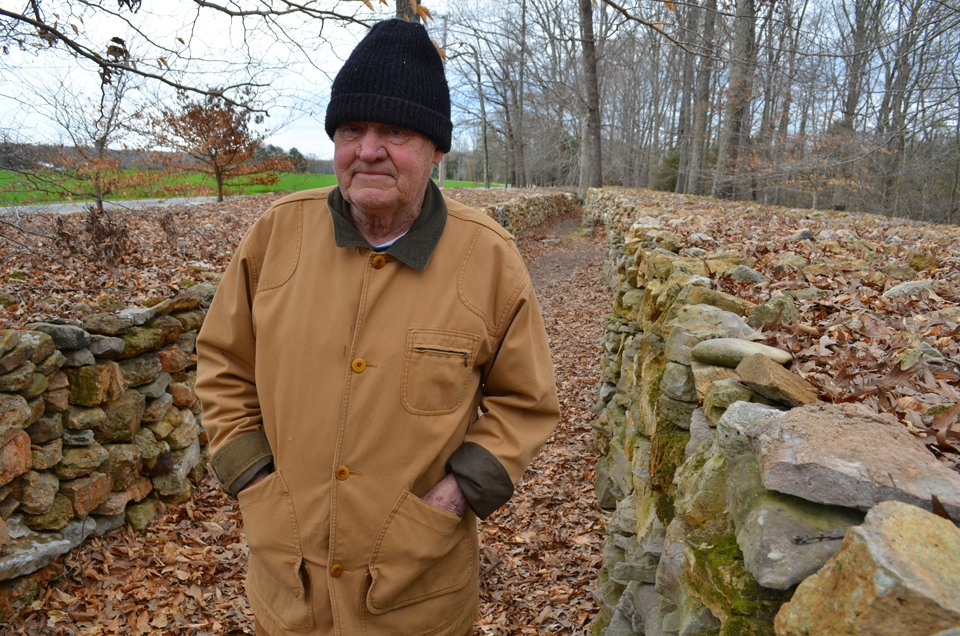 Tom Hendrix surrounded his home near Florence, Alabama, just off the Natchez Trace Parkway, with artful stone walls. Each stone represents one step of his great-grandmother's journey from Alabama to Oklahoma on the Traill of Tears Indian removal in 1845 and her return to Alabama on foot,