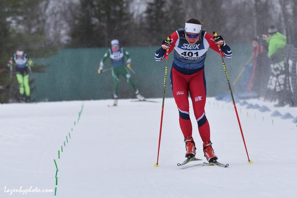 Julia Kern SMST2, finishing first, sprint, NENSA Eastern Cup, COC.