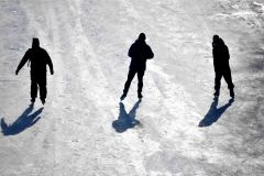 skating, Rideau Canal, Ottawa, Ontario, Canada