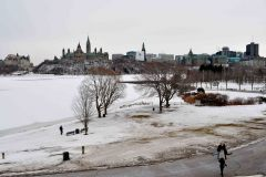 Ottawa River, Parlieament Hill from museum of Civilization, Ottawa, Ontario, Canada