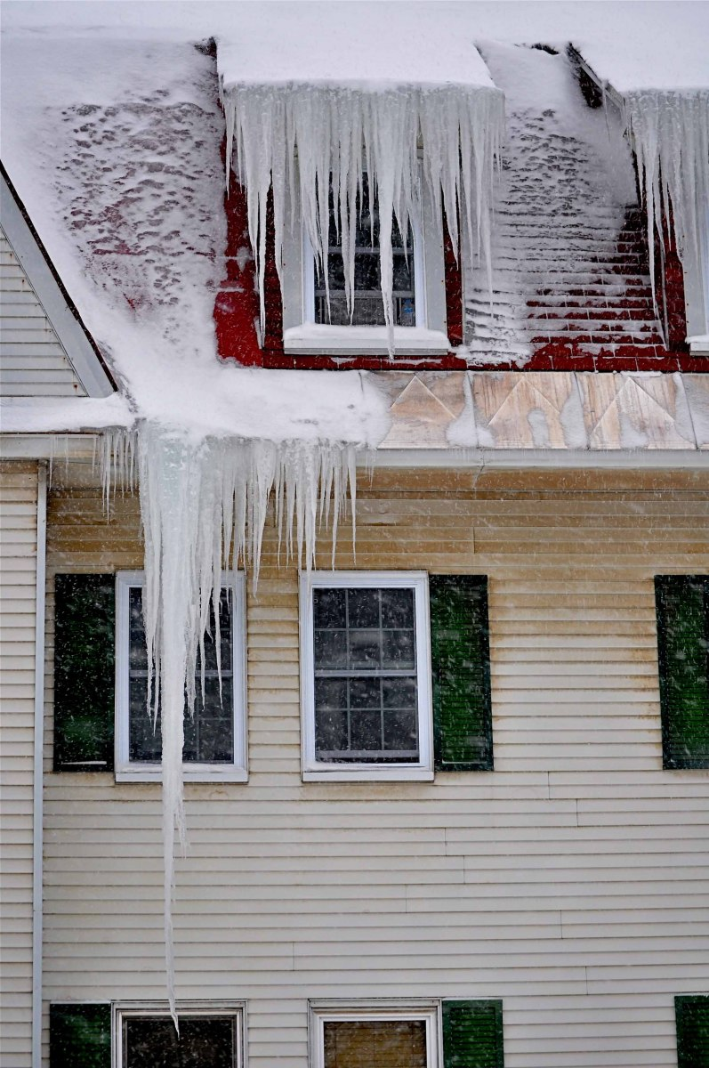 Icicles at The Balsams, Dixville Notch, NH