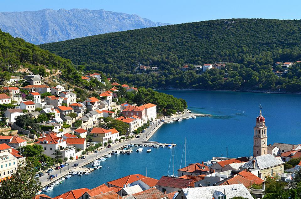Biking Croatia's Dalmatian Islands